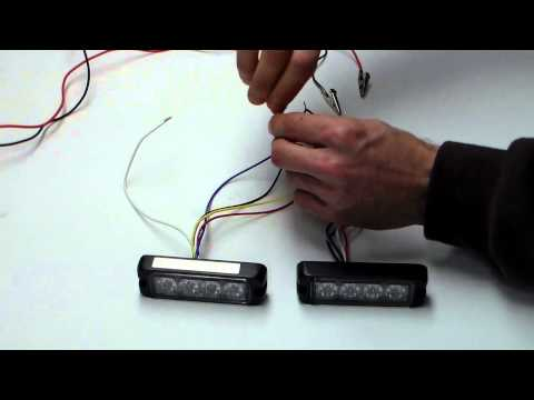T4 Surface Module Wiring Demo by CPS Authority Emergency Warning Lights