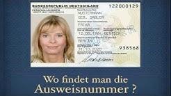 Wo ist die Ausweisnummer ? (beim neuen Personalausweis)