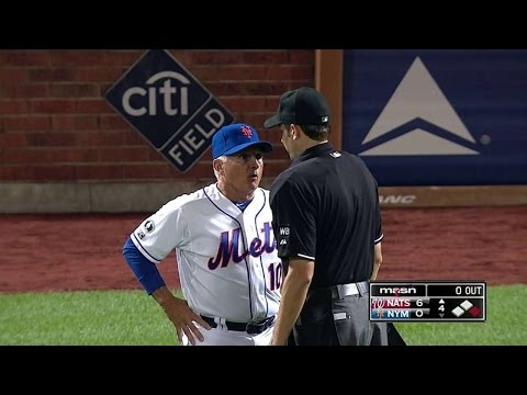 WSH@NYM: Colon, Collins ejected after Werth is hit