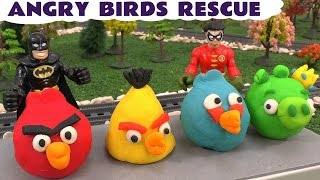 imaginext batman rescue play doh angry birds thomas friends cars avengers hulk spider man
