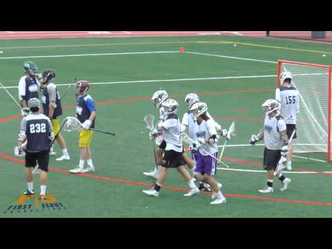 Will Bock - 2018 Lacrosse Goalie - 2015 Underarmour Shootout Final (Full Game)
