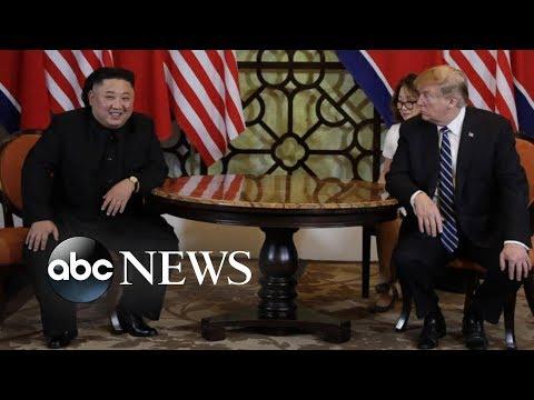 Trump, Kim meeting in Vietnam cut short