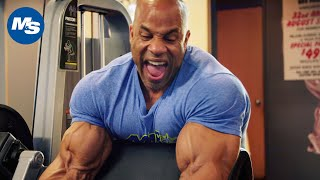 Victor Martinez's Arm Day Workout | Building Legendary Arms