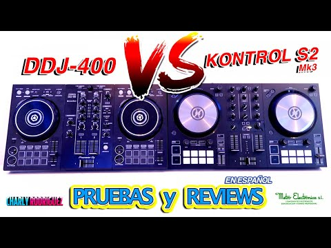 DDJ 400 Vs KONTROL S2 Mk3 (Pruebas y Reviews)