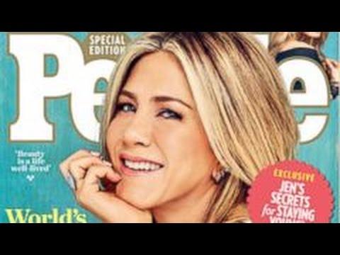 Jennifer Aniston is People Magazines Most Beautiful Woman