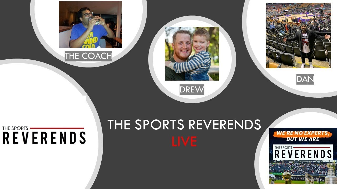 The Sports Reverends LIVE with JASON BURGE!!!