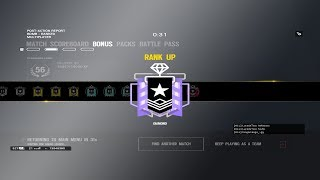 Diamond Limbo // Rainbow six siege livestream (PC)