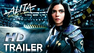 ALITA Battle Angel - Official Trailer # 2 Animated Movie HD