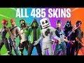 FORTNITE ALL SEASON SKINS (All Season 1 to 10 Skins)
