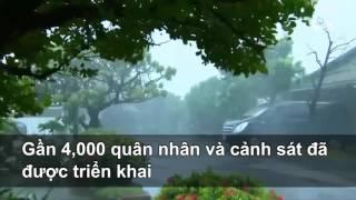 Siêu bão Meranti tàn phá Đài Loan