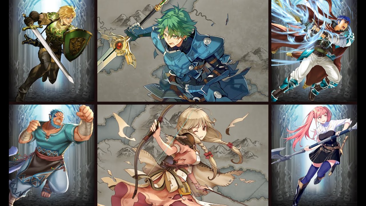 Fire Emblem Heroes (Bound Hero Battle | Alm & Faye