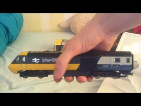 hornby class 43 BR intercity 125 HST unboxing