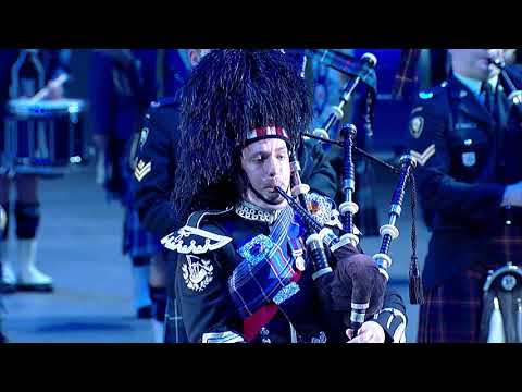 2018 Virginia International Tattoo - Massed Pipes and Drums
