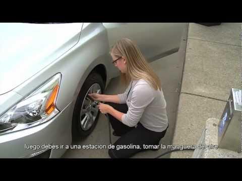 Nissan hace que revisar la presión de las llantas sea fácil