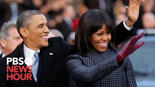 President Obama and Family Leave for Capitol in Motorcade thumbnail