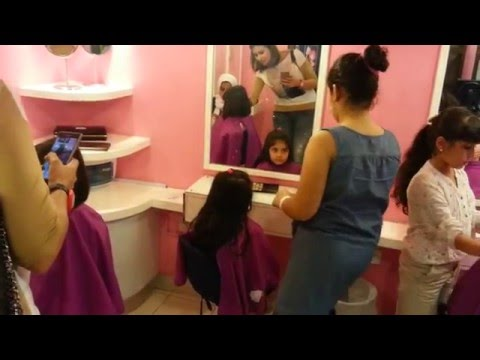 kidzania salon/beauty parlor