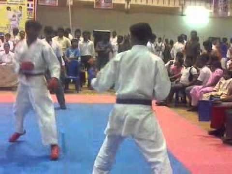 Learning Karate-kamaraj Fight