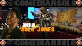 Comedian Solo Jones @ Laffaholics Comedy Club Brooklyn's