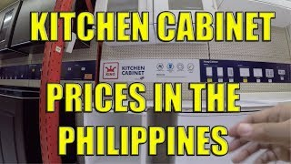 Kitchen Cabinet Prices In The Philippines.