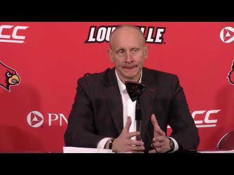 MBB: Head Coach Chris Mack vs North Carolina Postgame Interview