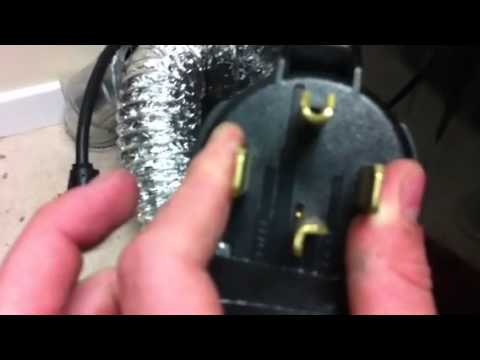 Wiring a 240v welder to dryer plug - YouTube