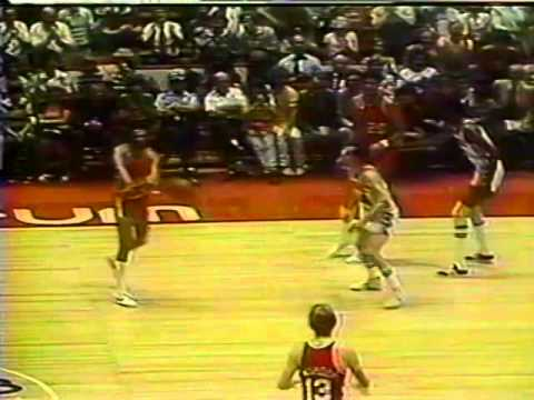 1977 NBA Finals Portland Trail Blazers v Philadelphia 76ers Game 5 2 of 2 (Qtr 4)