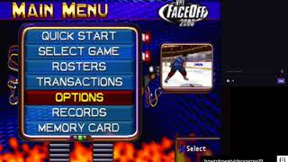 Hockey Quest - NHL FaceOff 2000