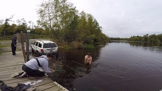 Boat Ramp FAIL.. MTB Challenge In The Northwoods!