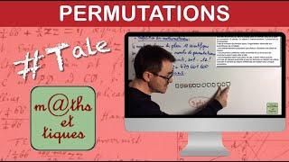 Utiliser les permutations pour dénombrer - Terminale