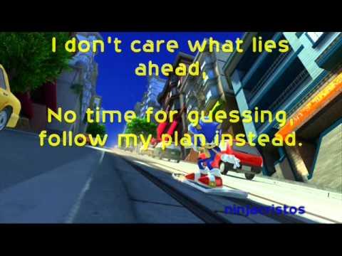 Sonic Generations - City Escape Modern (LYRICS)