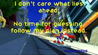 Sonic Generations - City Escape Modern (LYRICS)