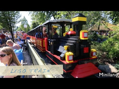Legoland, Denmark - All Attractions in 10 Minutes