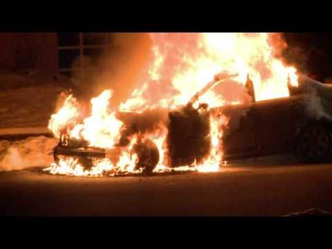02.22.10 - Car Fire; Whitehall, PA
