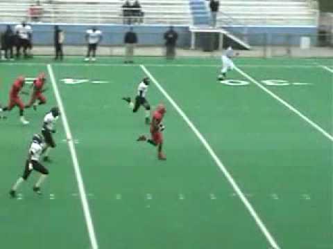 85 yd Kickoff Return by Rodney Lloyd (WR/DB Fenger Academy High School)