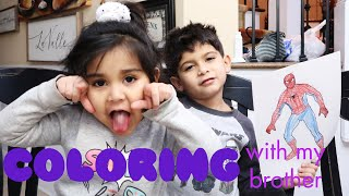 COLORING WITH LORENZO | SISSY'S PLAYHOUSE