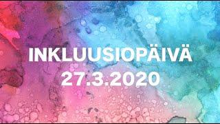 Inkluusiopäivän julistus 2020