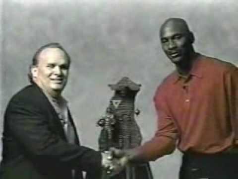 Michael Jordan video accepting Roche Sculpture
