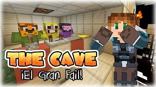 EL GRAN FAIL DE MIS AMIGOS! XDD | The Cave | Mapa del Suscriptor | Minecraft | Lady Boss