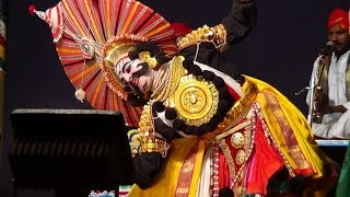 Yakshagana -- Kadabal Uday hegde as Salva -