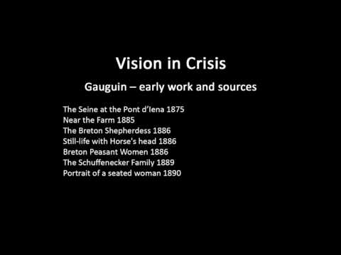 A history of modern art in 73 lectures: lecture 8 (Gauguin)