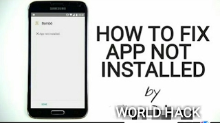 HOW TO FIX APK NOT INSTALLED PROBLEM  100 WORKING