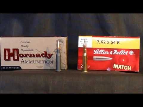 7.62x54r Match Ammo Competition @100 yards