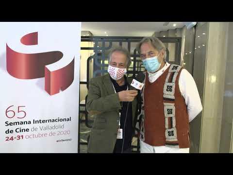 #65Seminci - Saludo de Enrique Gabriel y Paco Poch, del Jurado de #PuntodeEncuentro (24/10/2020)