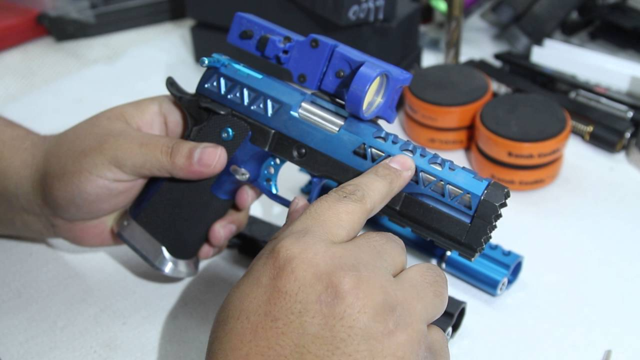 NEW Airsoft Masterpiece Slides Infinity/Limcat Quick Overview by KnucklesGSM