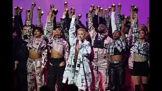Pink performs, gets honor at music's Brit Awards, with Dua Lipa, The 1975 also winners