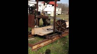 Homemade Bandsaw Mill Part 2