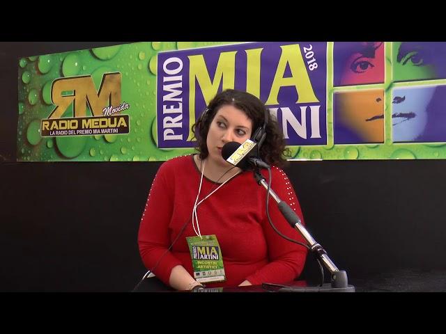 ANGELA MADONIA - intervista su Radio Medua