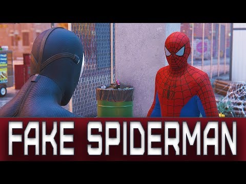 "Spider-Man - Spidey teams up with ""Fake Spider-Man"""
