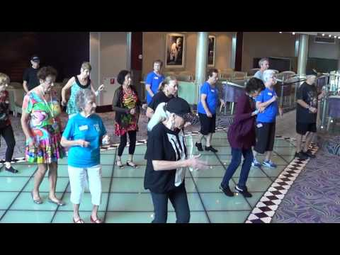 LLH SHUFFLE Line Dance Roger Ingmire USA on the ALLURE OF THE SEAS