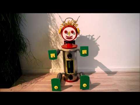Robin de Robot nagemaakt!